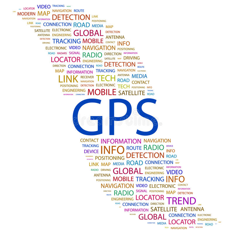 GPS. vector illustratie