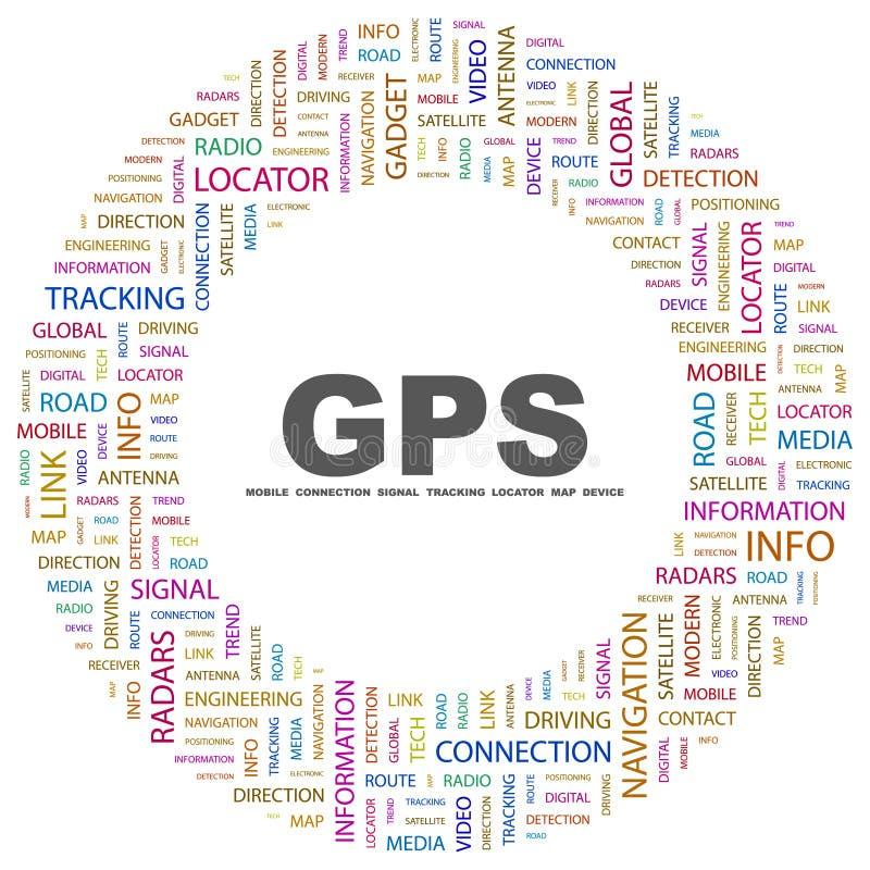 GPS. illustrazione vettoriale