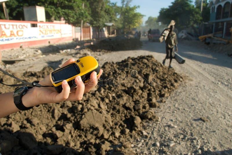 GPS royalty-vrije stock foto