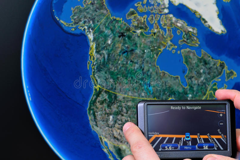 Download Gps america stock image. Image of satellite, handheld - 12780883