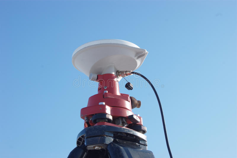 Download GPS antenna stock photo. Image of system, geodesy, surveying - 22330102