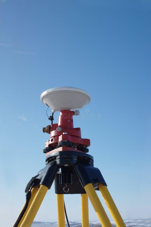 Gps-Antenne lizenzfreies stockbild
