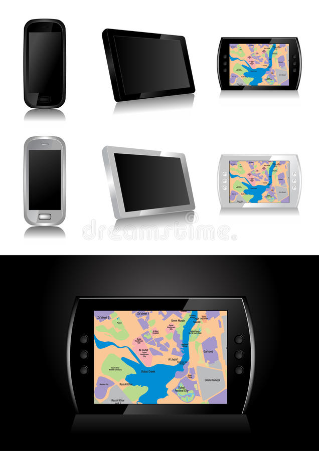 GPS - Global Positioning System Stock Images