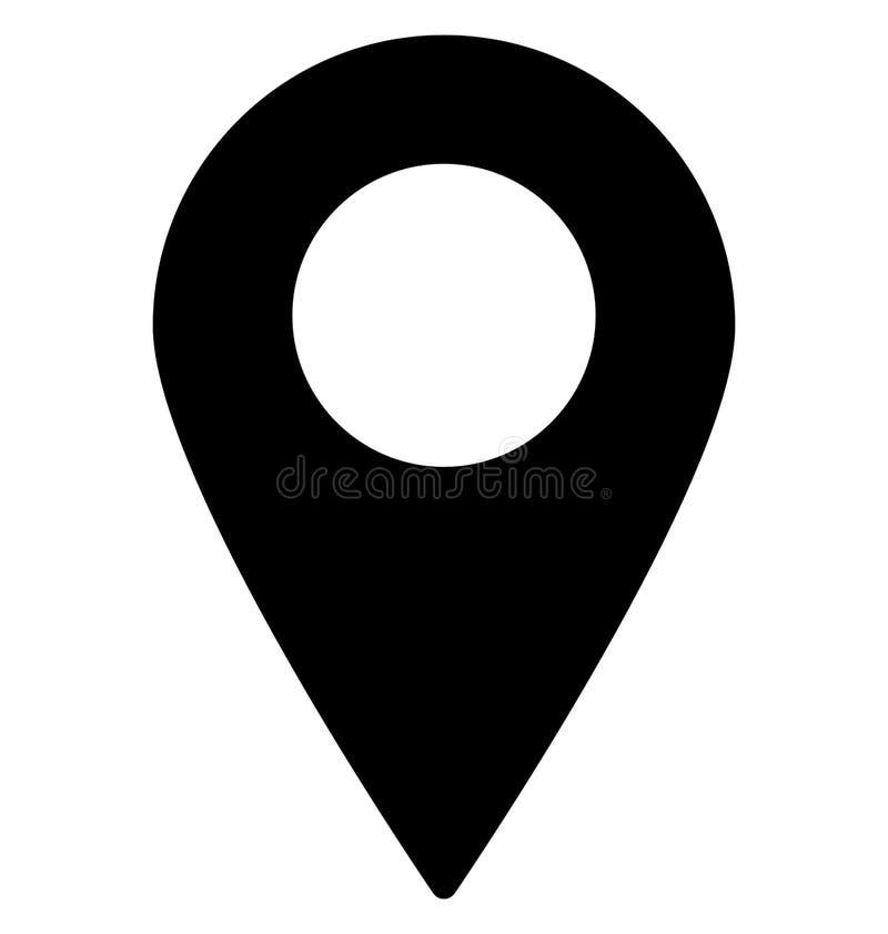 Gps, lokacja Odizolowywali Wektorową ikonę Która może być bardzo łatwo redaguje lub modyfikuje ilustracji