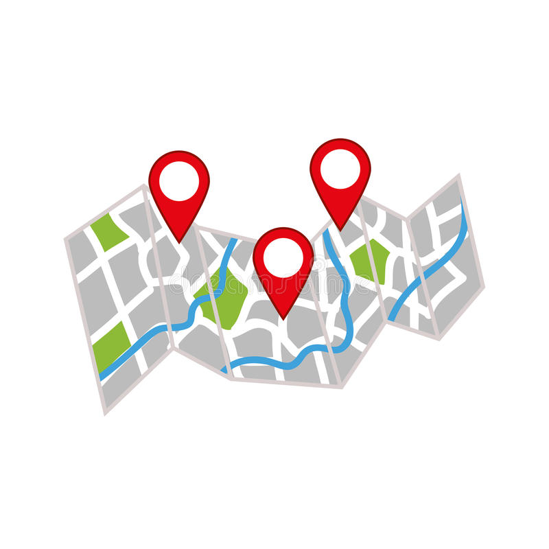 GPS map location. Icon vector illustration graphic design vector illustration