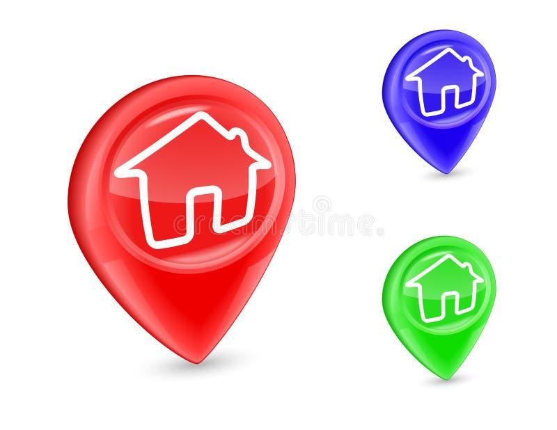 Download GPS marker stock vector. Image of illustration, destinations - 32158805
