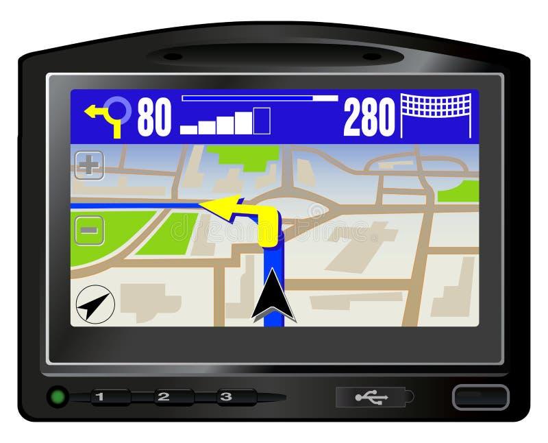 GPS moderno ilustração stock