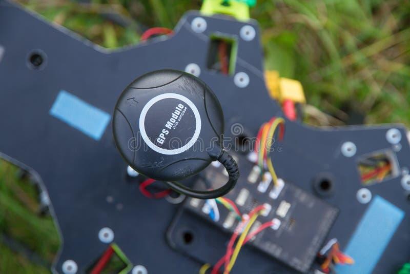 GPS-module op hommel royalty-vrije stock foto