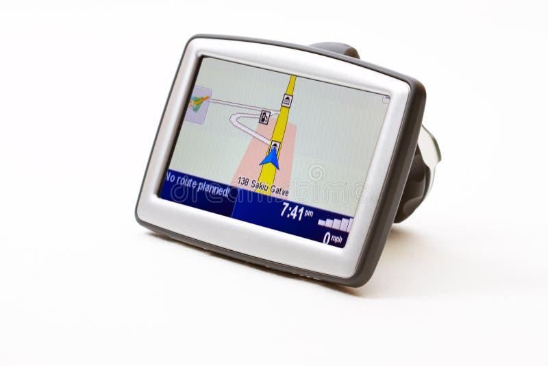 gps-navigatör royaltyfria foton