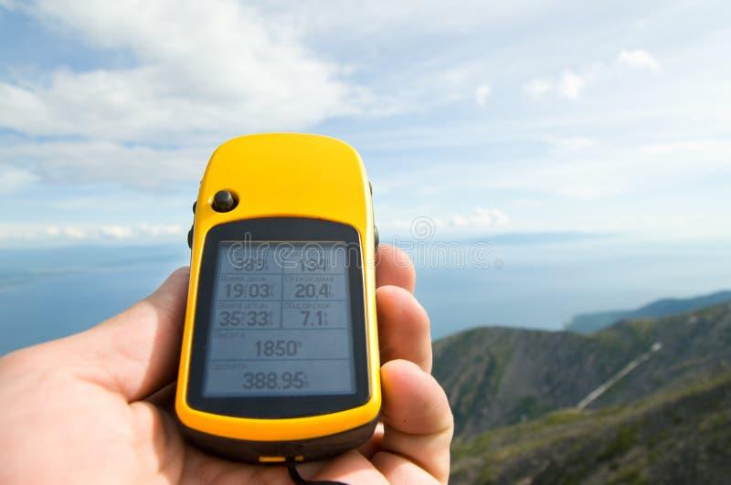 GPS navigator royalty-vrije stock foto