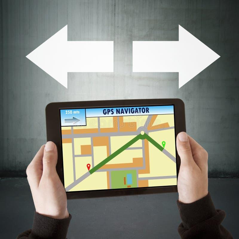 Gps navigator stock photos