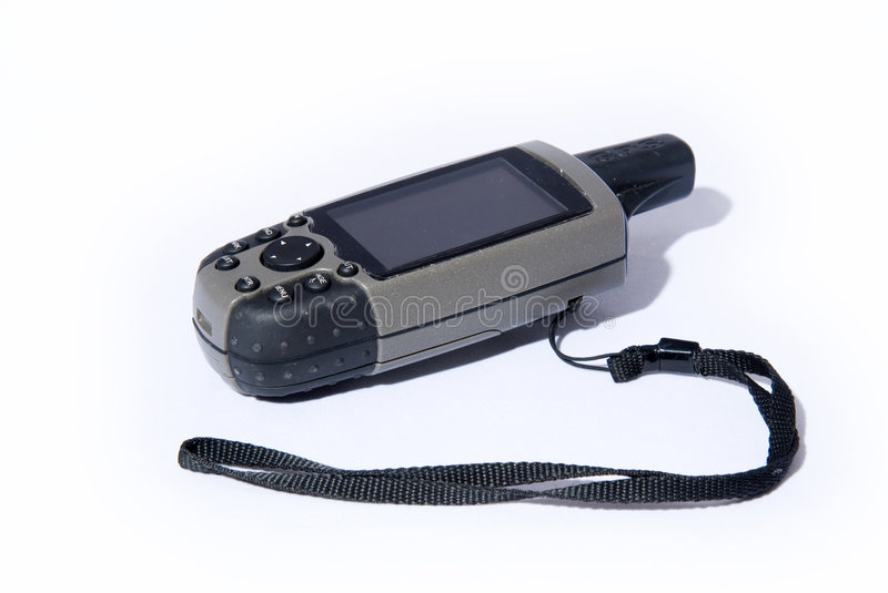 GPS receiver for outdoor royalty free stock images