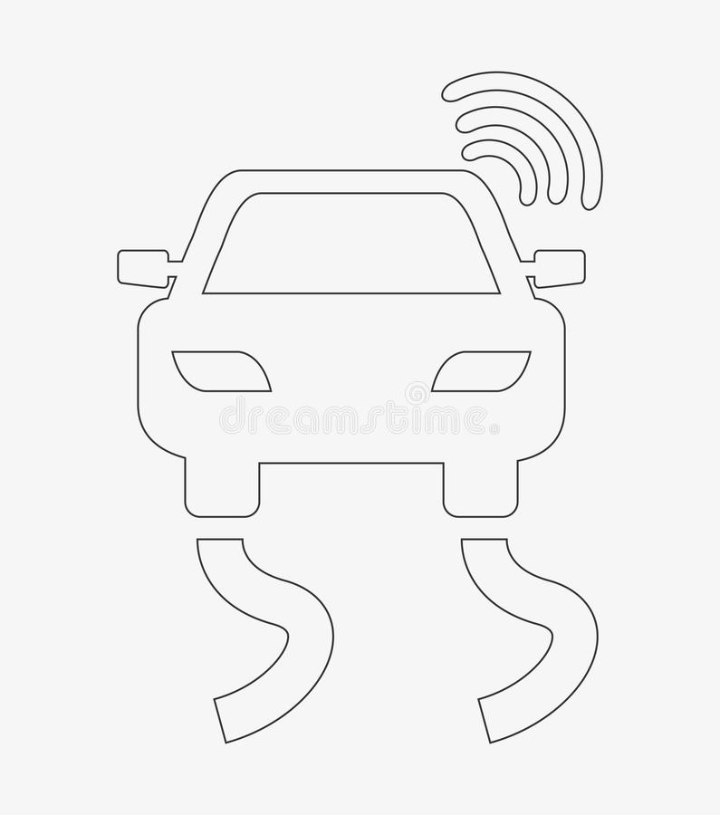 Gps service. Design, vector illustration eps10 graphic royalty free illustration