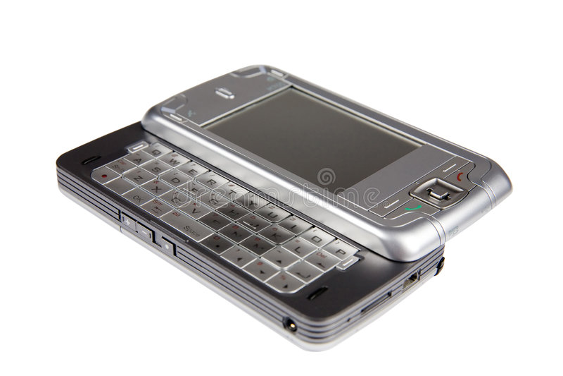 GPS smartphone stock afbeelding