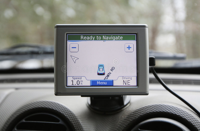 GPS system royalty free stock photo