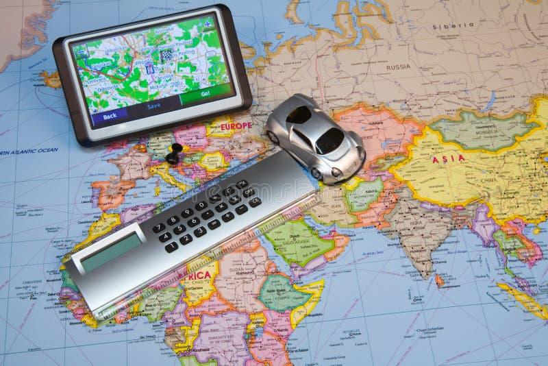 gps system nawigacji zdjęcia stock