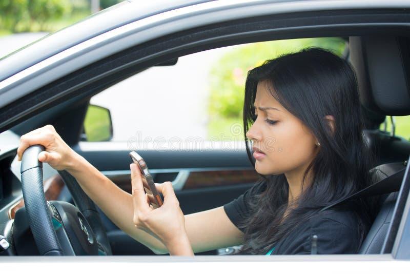 GPS zła lub pracująca wiadomość tekstowa obrazy royalty free