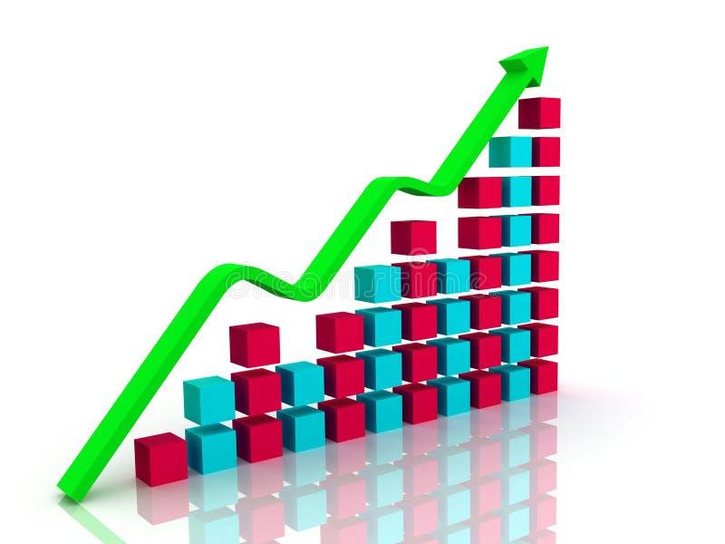 Gráfico ilustração stock