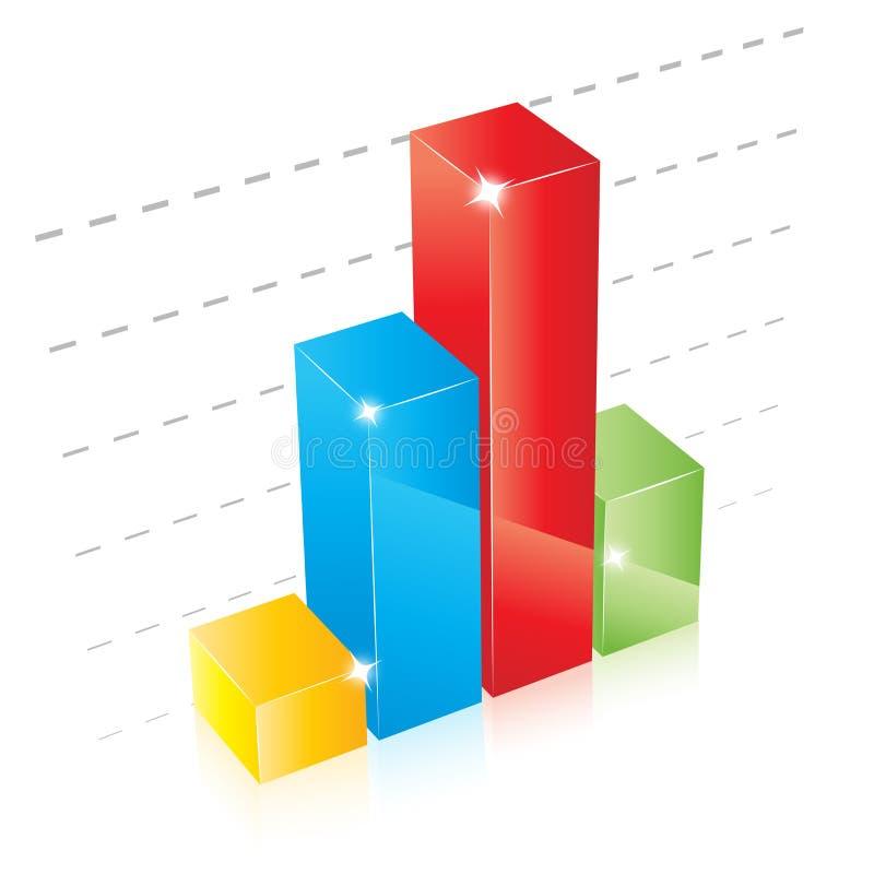 Gráfico ilustração do vetor