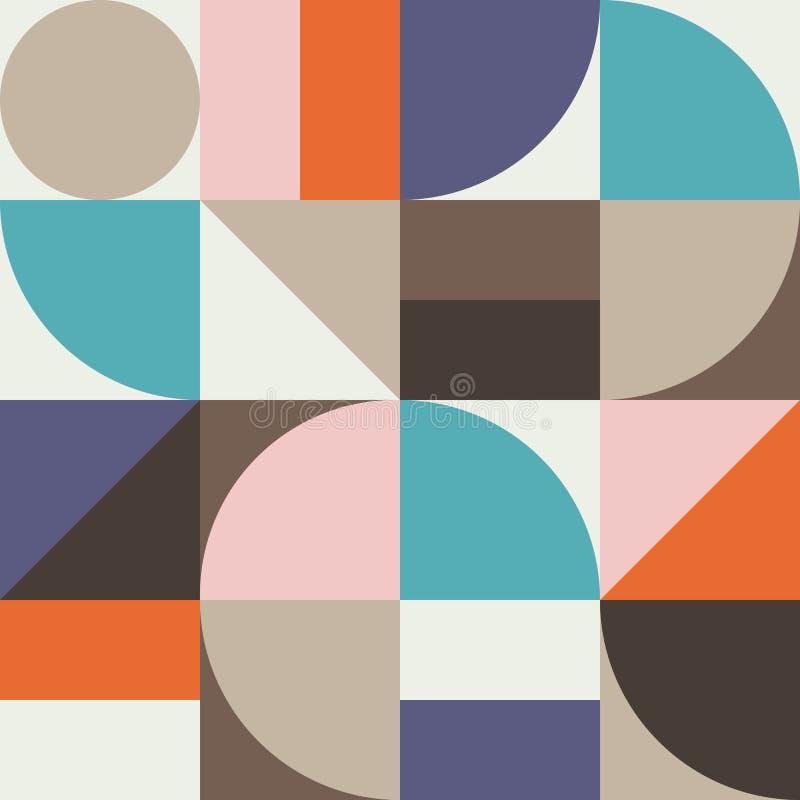 Gráfico abstracto 05 del modelo de la geometría libre illustration
