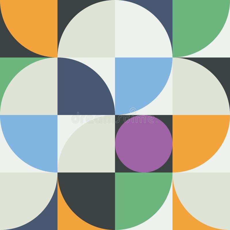 Gráfico abstracto 03 del modelo de la geometría stock de ilustración