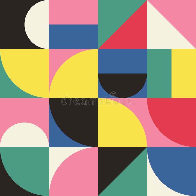 Gráfico abstracto 11 del modelo de la geometría libre illustration