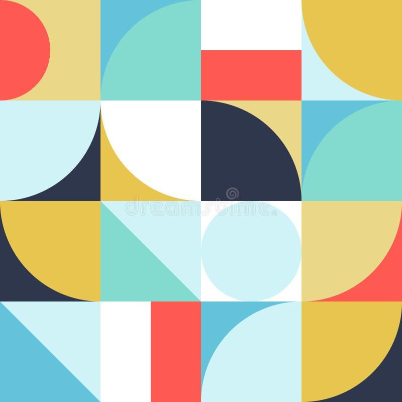 Gráfico abstracto 10 del modelo de la geometría stock de ilustración