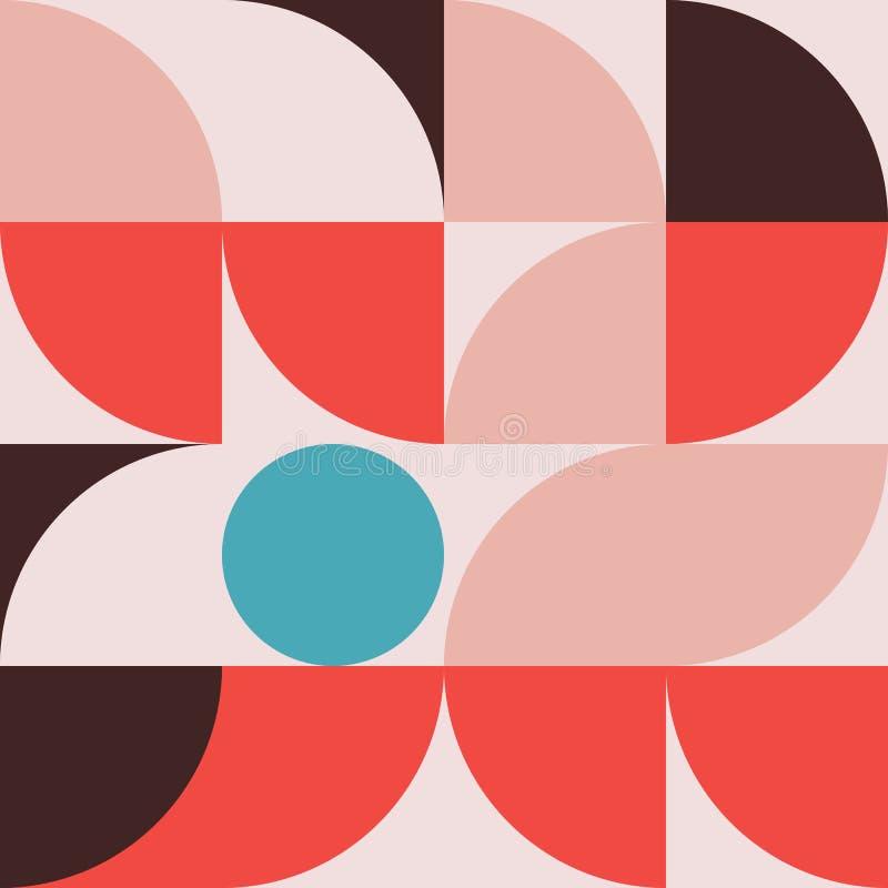 Gráfico abstracto 08 del modelo de la geometría stock de ilustración