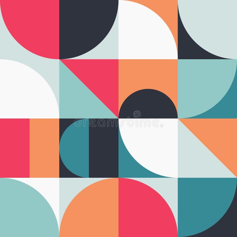 Gráfico abstracto 13 del modelo de la geometría ilustración del vector