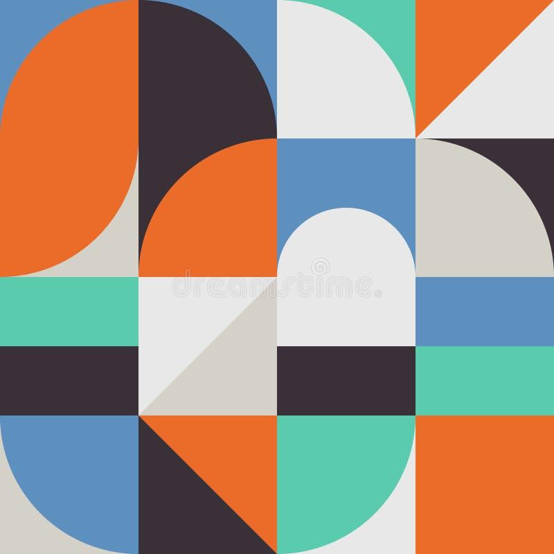 Gráfico abstracto 09 del modelo de la geometría stock de ilustración