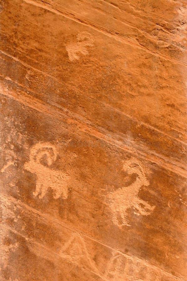 Gráfico antiguo de la roca imágenes de archivo libres de regalías