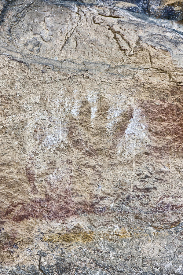 Gráfico antiguo de la roca fotografía de archivo libre de regalías