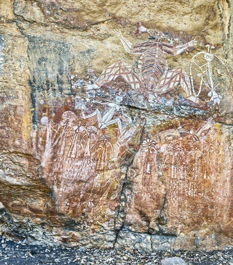 Gráfico antiguo de la roca imagen de archivo