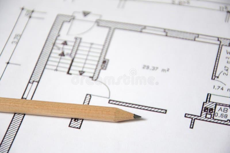 Gráfico arquitectónico foto de archivo libre de regalías