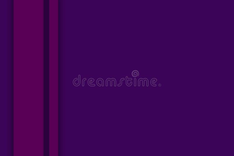 Gráfico bonito t da arte da ilustração violeta abstrata do fundo imagens de stock