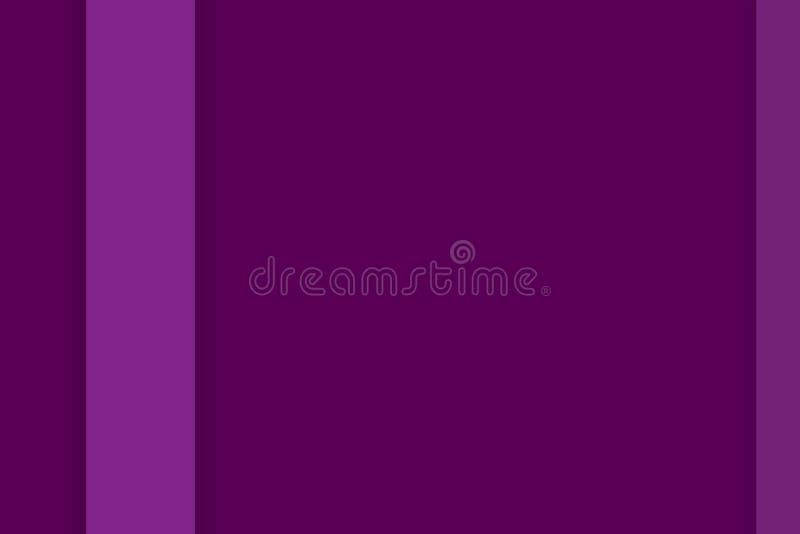 Gráfico bonito t da arte da ilustração violeta abstrata do fundo foto de stock