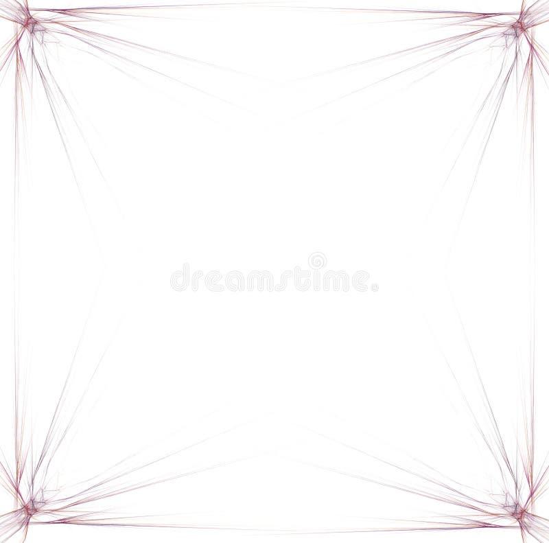 Gráfico da beira/negócio - fundo vermelho 1 ilustração stock