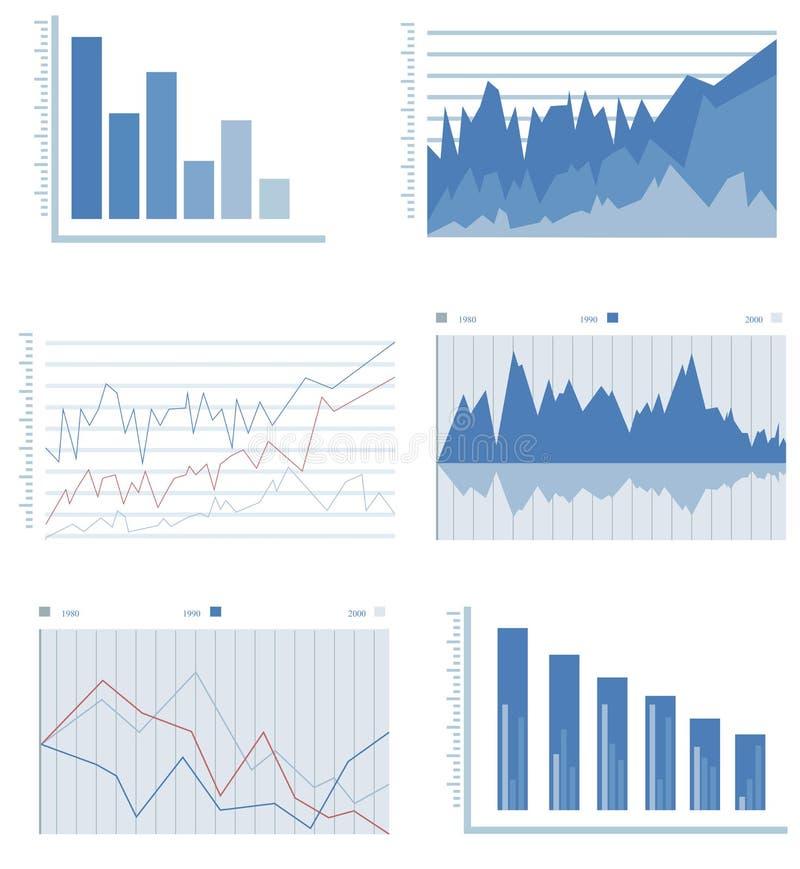 Gráfico da informação ilustração do vetor