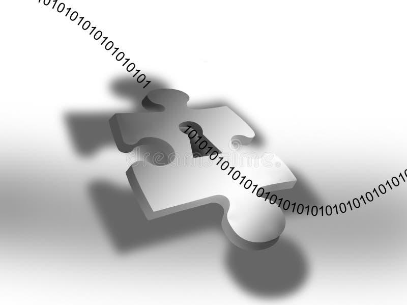 gráfico da segurança do Internet 3D ilustração do vetor