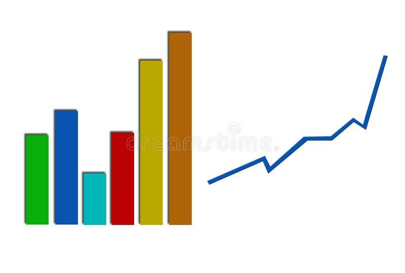 Download Gráfico De La Estadística Del Beneficio De Asunto Stock de ilustración - Ilustración de figuras, carta: 1287975