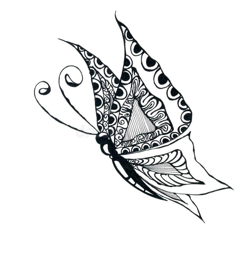Gráfico de la mariposa libre illustration