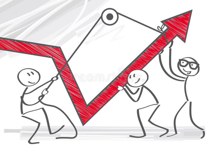 Gráfico de los ingresos libre illustration