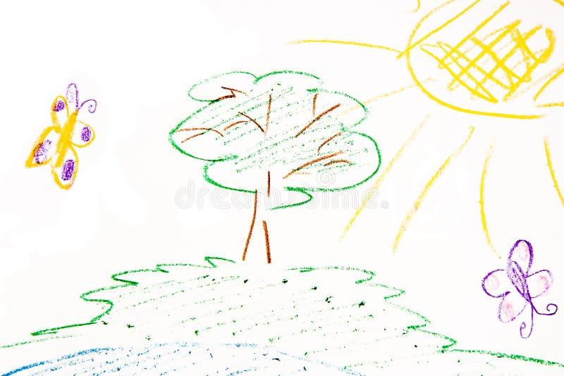 Gráfico de los niños stock de ilustración