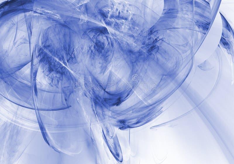 Gráfico de negócio - os azuis ilustração royalty free