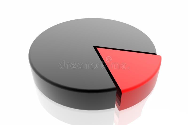 Gráfico del éxito stock de ilustración