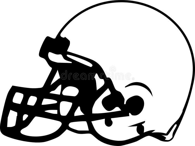 Gráfico del casco de balompié libre illustration