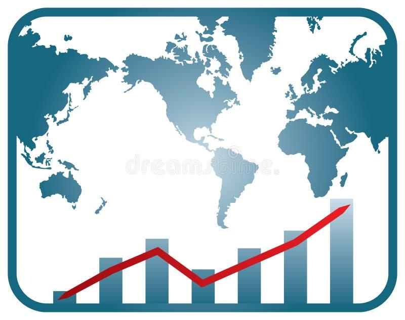 Gráfico del desarrollo ilustración del vector