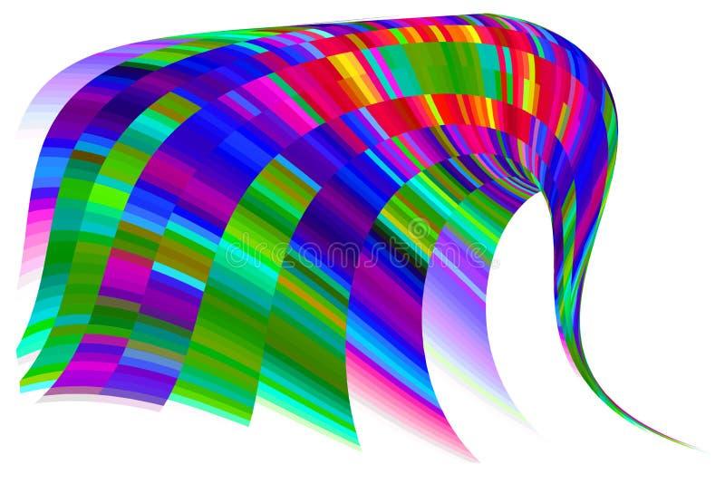 Gráfico del elefante ilustración del vector