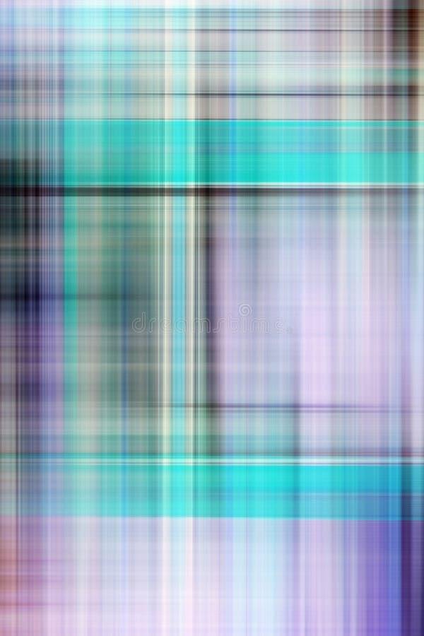 Gráfico del fondo de la tela escocesa stock de ilustración