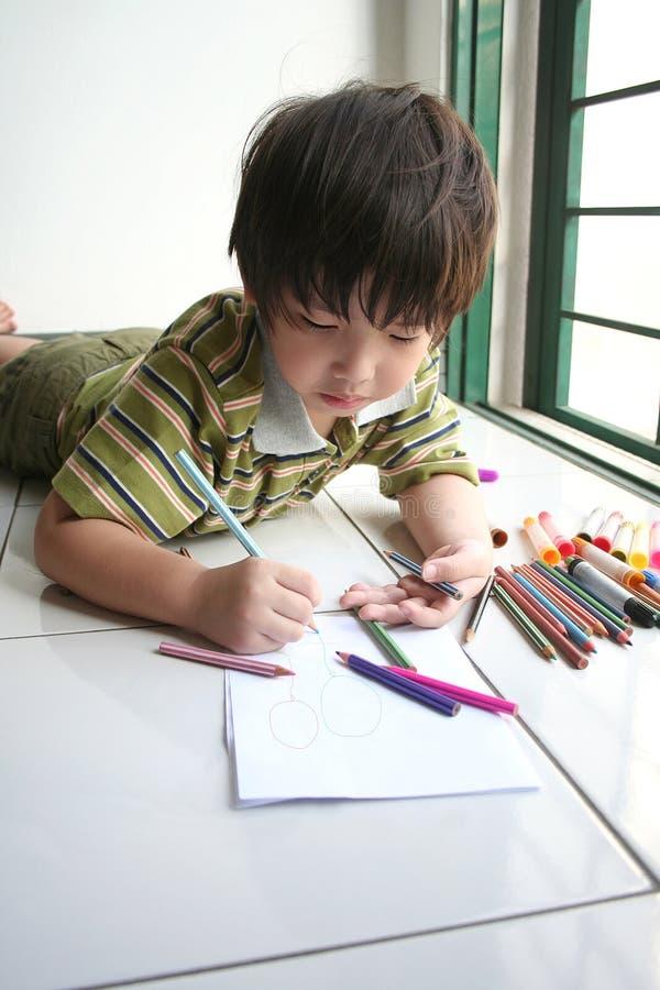 Gráfico del muchacho fotografía de archivo
